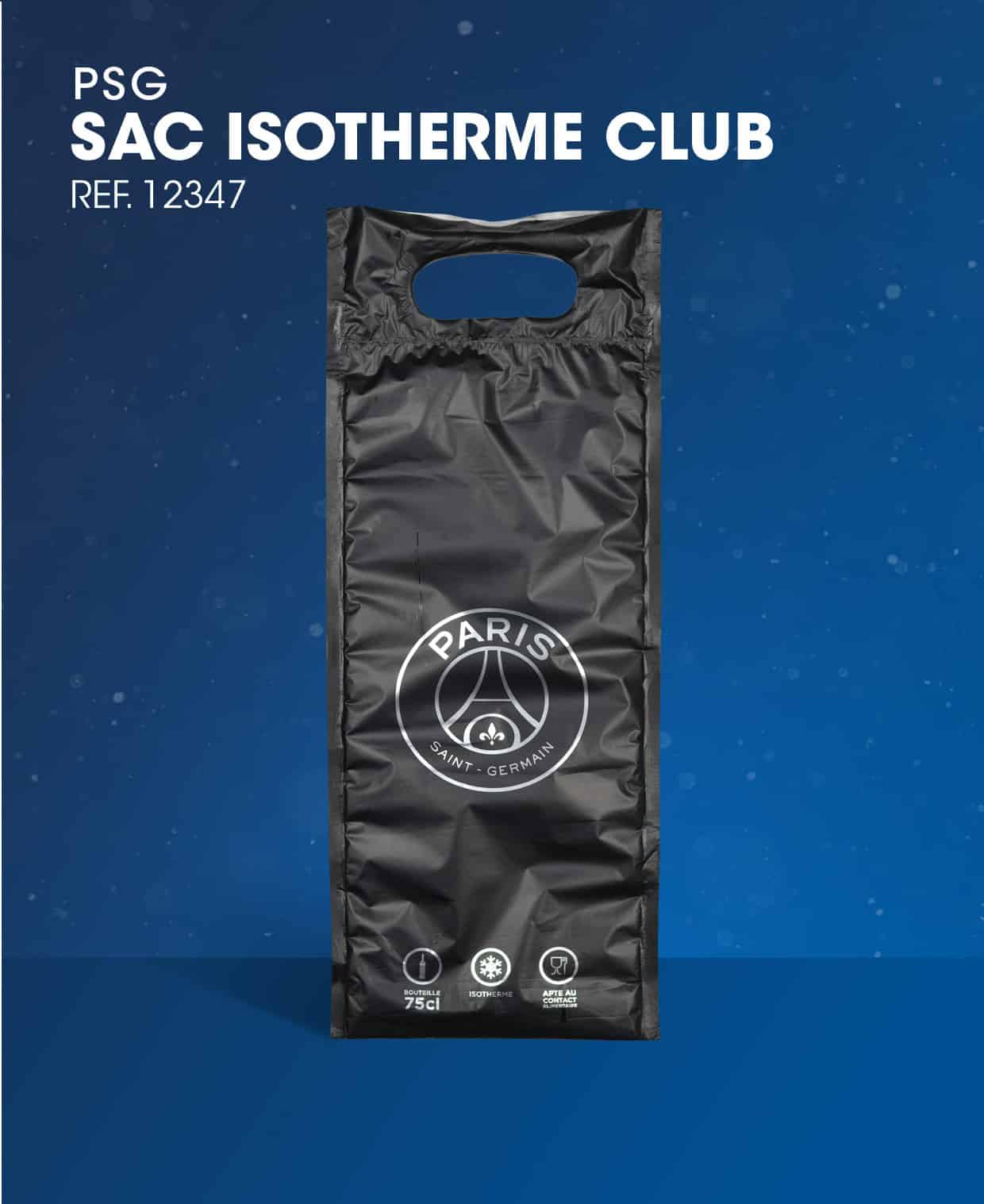 Sac à glaçon PSG Sac Isotherme Club